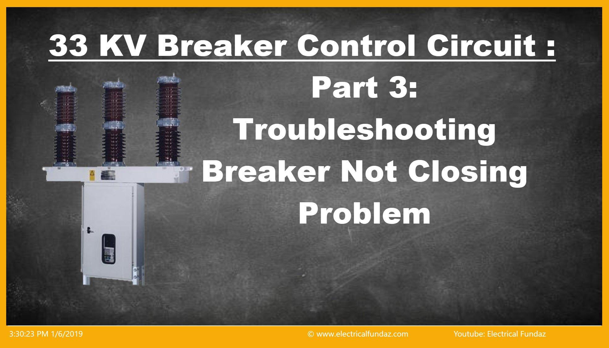 Troubleshooting Circuit Brekaer